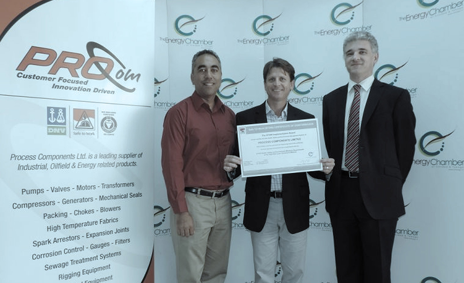 ProCom Receives Stow Certification