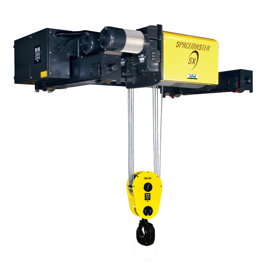 High capacity and special application hoists
